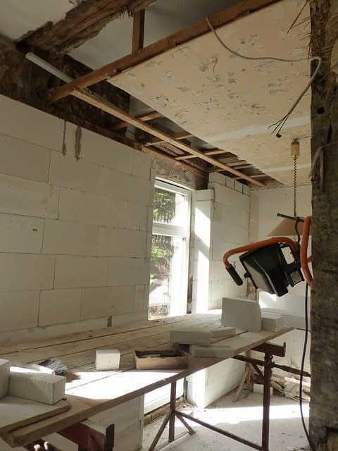 Sanierung Baustelle