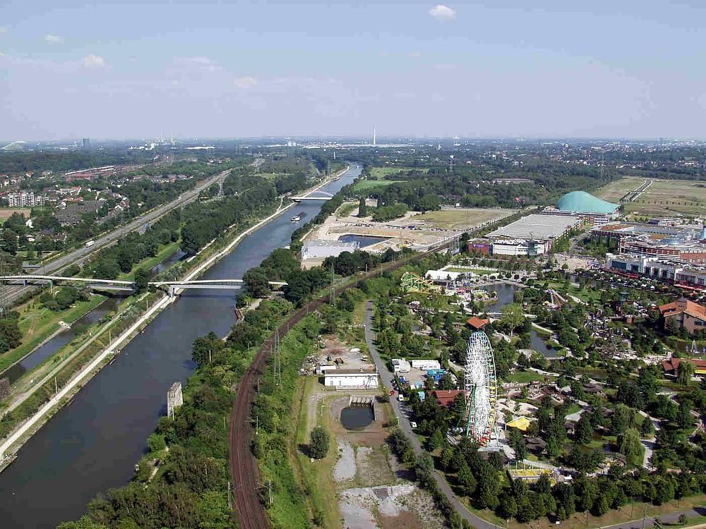 Rhein-Herne-Kanal bei Oberhausen Gottschling Immobilien